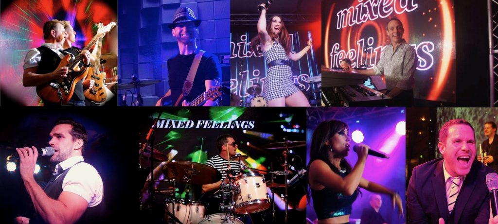 Mixed Feelings Band Collage of Photos