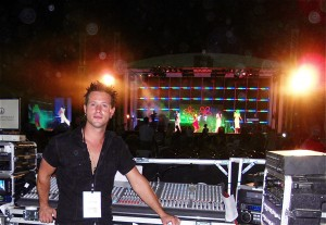 Greg Nicholls - Stage manager, Sound Engineer & DJ