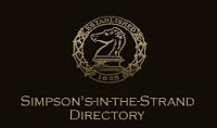 Simpson's in the Strand Directory