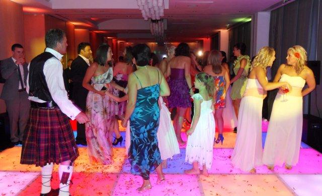 70s Nightfever Dance Floor