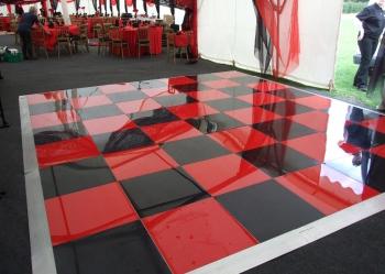 Red and Black Dancefloor